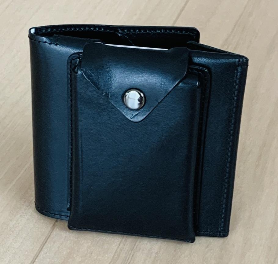 アブラサス薄い財布ローランドモデルの写真(薄いカードケース付※縦)