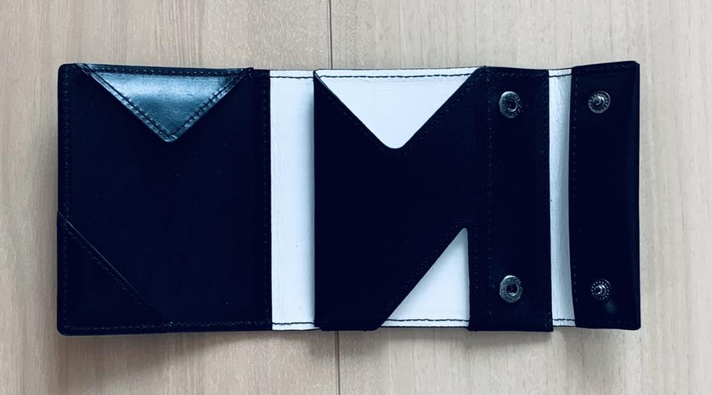 アブラサス薄い財布ローランドモデルの写真(展開図)