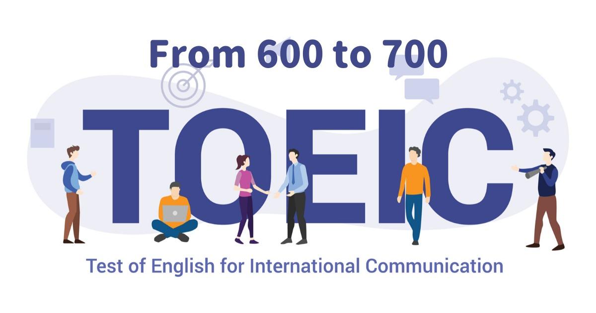 TOEIC600点から700点は壁が低い【100時間勉強でOK】