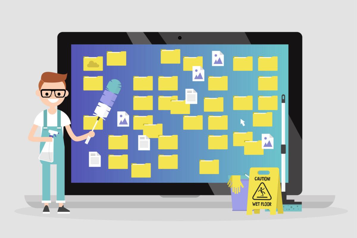 【デスクトップ整理術】お気に入りの壁紙が見えなくなってませんか?